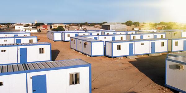Bauen Sie Wohnheime schluesselfertig mit Containerbauweise