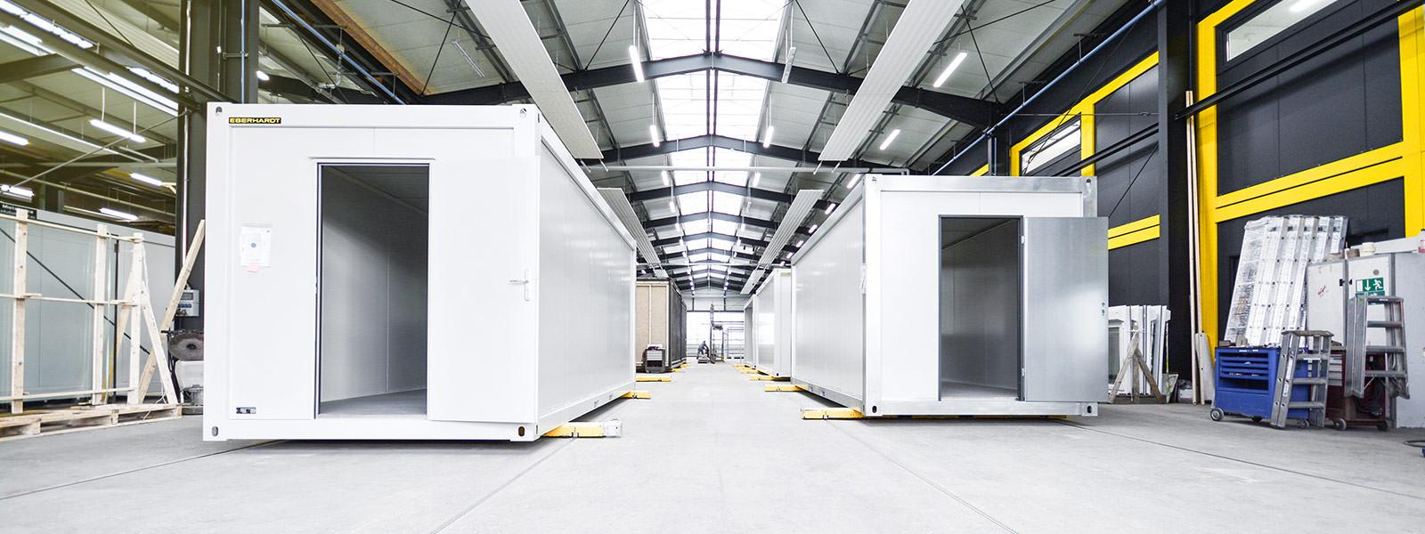 Raummodule und Containergebaeude von EBERHARDT Raumsysteme