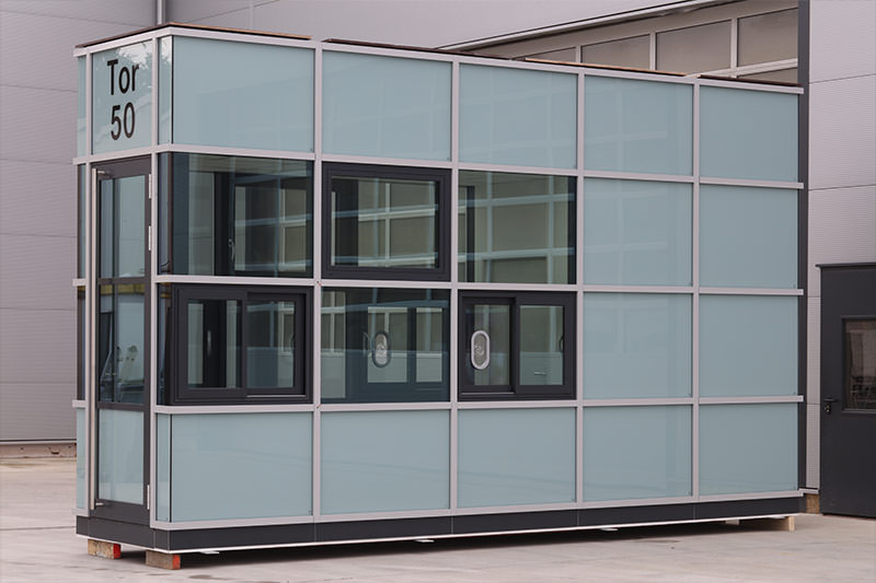 Pförtnerhaus Daimler AG, Sindelfingen