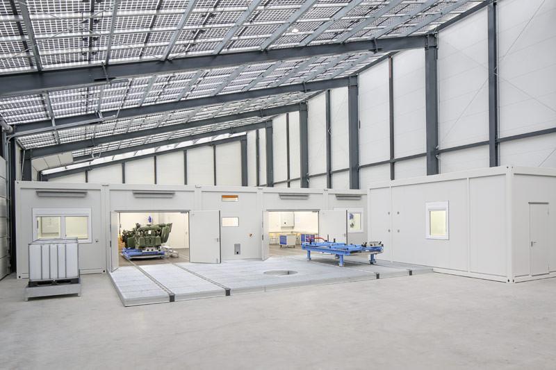 MTU Werkstattanlage, Weltweit