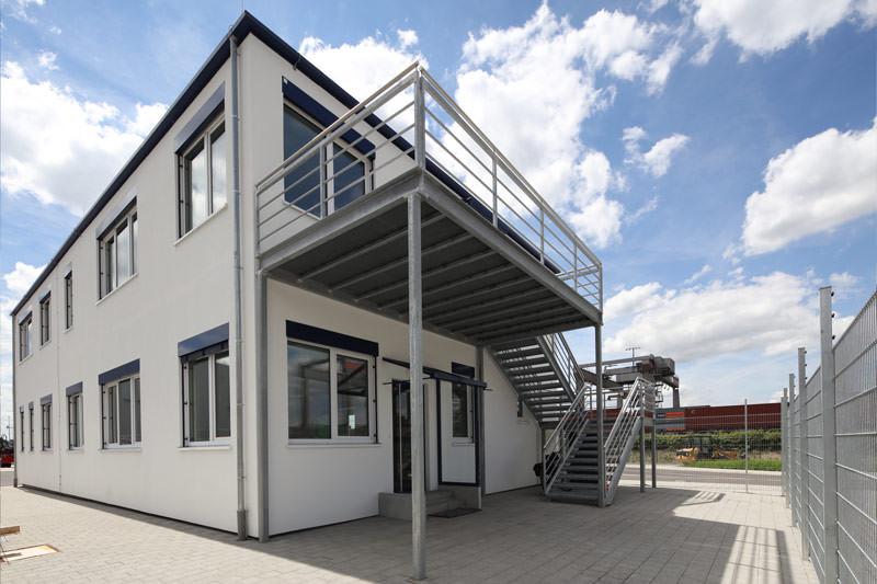 Temporäres Gebäude für Kindergarten in Erlangen