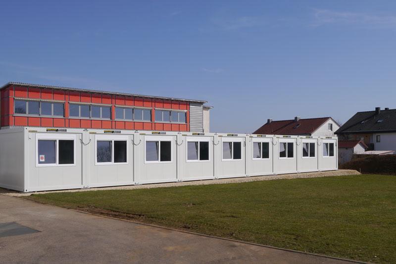 Neue Klassenräume der Kastellschule in Ellwangen