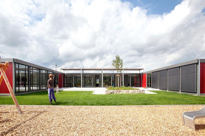 Neues KiTa-Gebäude für Kindertagesstätte Königsblick in Frankfurt