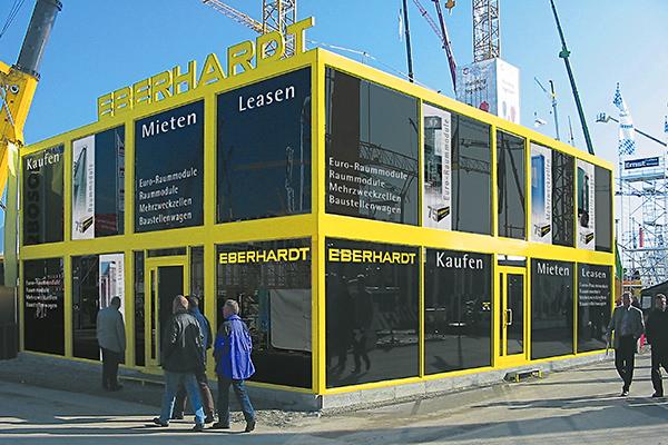 Messestand EBERHARDT, München
