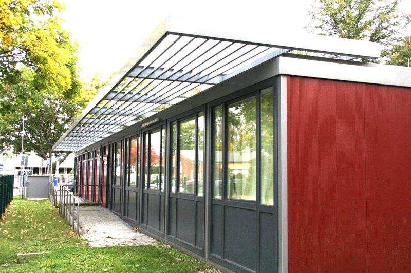 Behindertengerechte Schulerweiterung Viktor-Frankl-Schule in Frankfurt