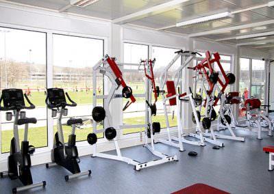 Fitnessräume VfB Stuttgart