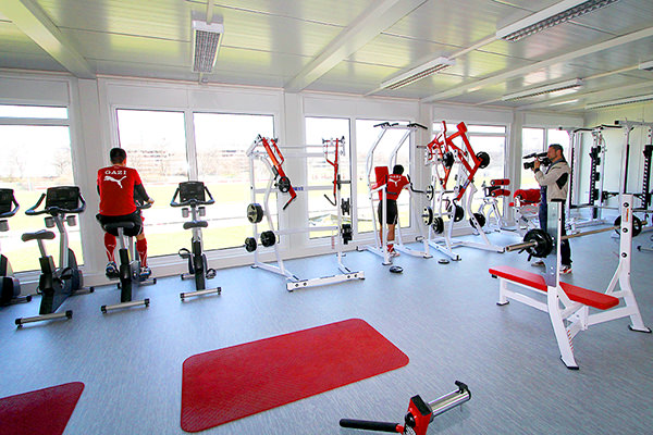 Fitnessräume VfB, Stuttgart