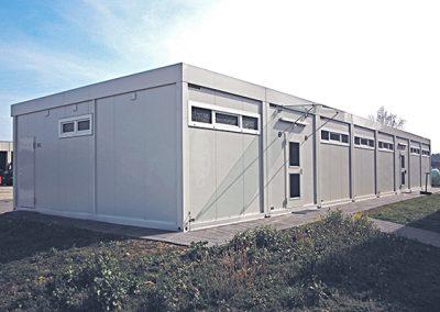 Sozialräume für Kaserne, Laupheim