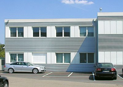 Audi Bürogebäude, Neckarsulm