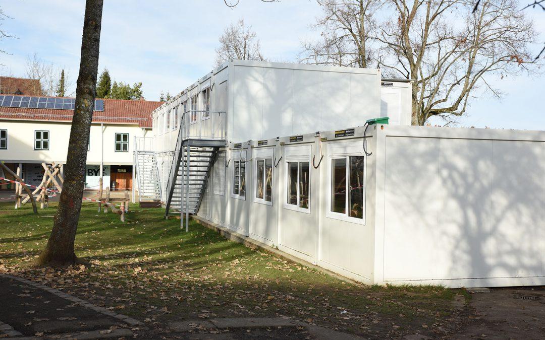 Neue zusätzliche Klassenzimmer