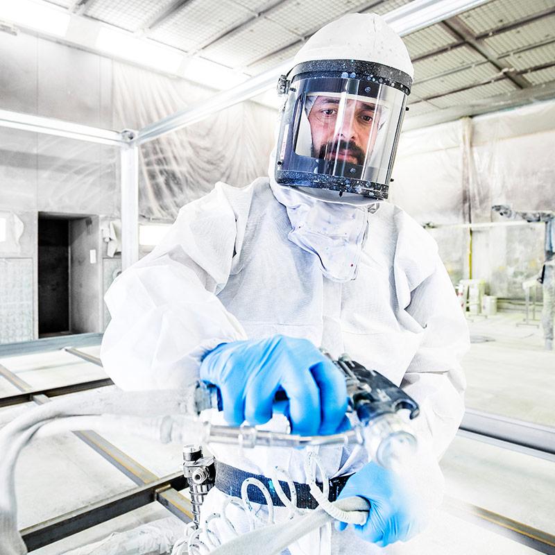Stellenangebot Industrielackierer bei EBERHARDT Raumsysteme