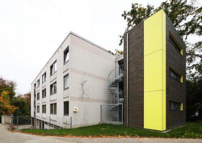 Anbau Sanitäranlagen des Studierendenwerks Ulm