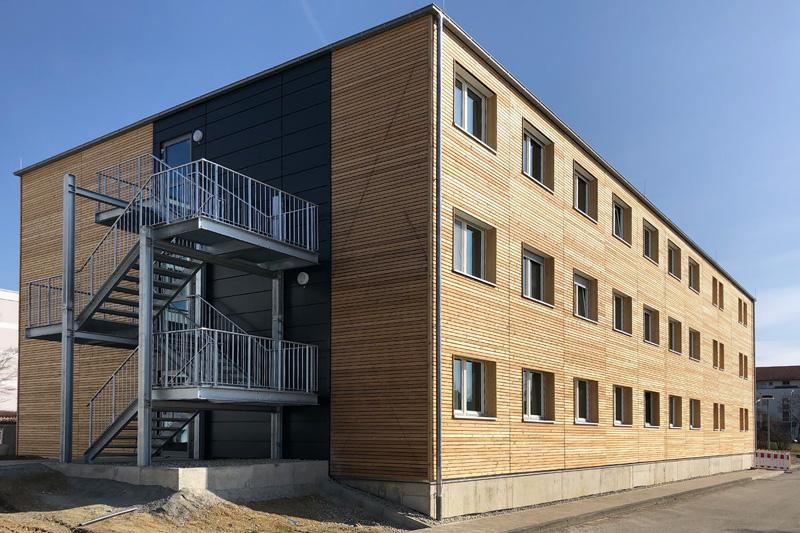 Wohnheim für Bildungseinrichtung, Region Ulm